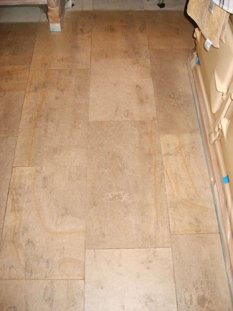Limestone Floor Cleaning & Sealing in Leicester