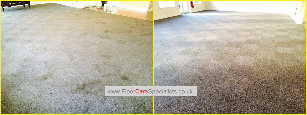 Commercial Carpet Cleaning - www.FloorCareSpecialists.co.uk