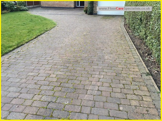 Driveway Clean and Seal in Leicester - www.FloorCareSpecialists.co.uk