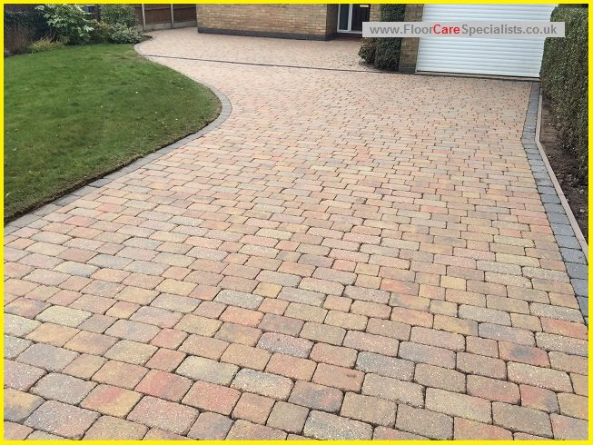 Driveway Cleaning and Sealing in Leicester - www.FloorCareSpecialists.co.uk
