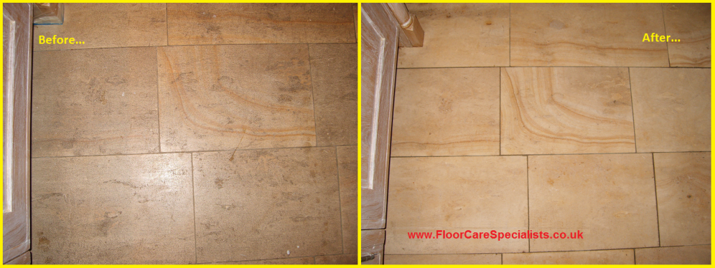 Limestone Floor Cleaning in Leicester