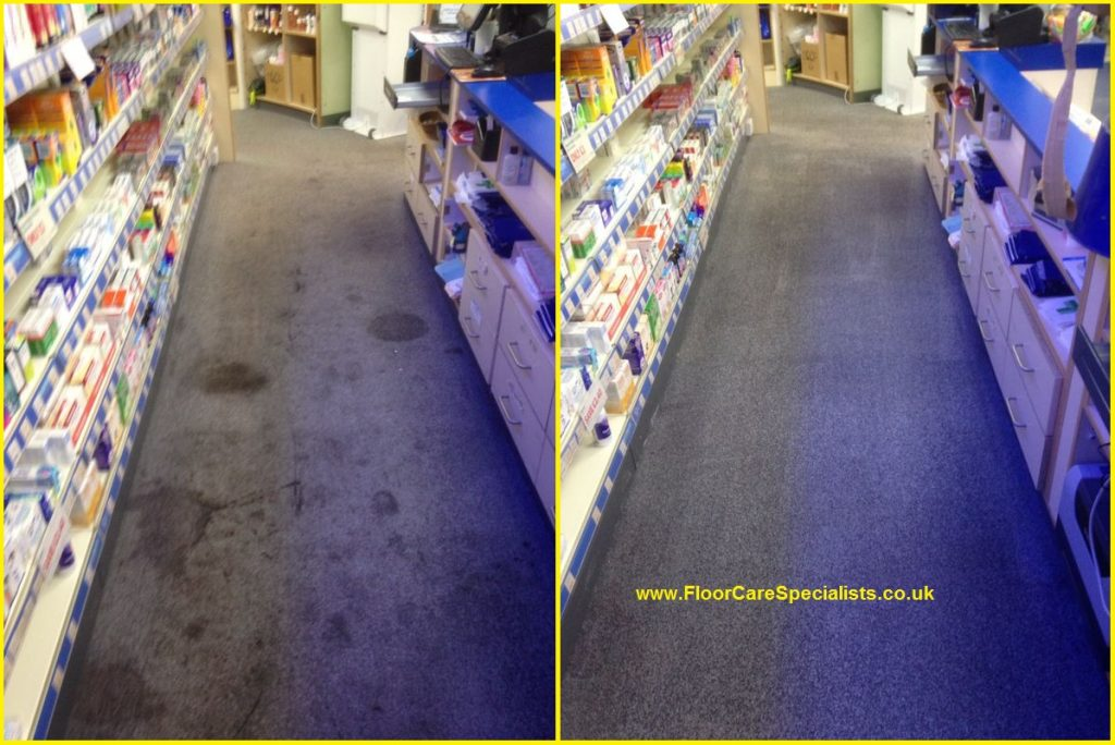 Professional commercial Office carpet cleaning in leicestershire - www.FloorCareSpecialists.co.uk