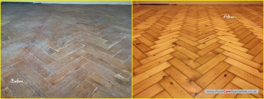 Pine Floor Sanders in Leicester - www.FloorCareSpecialists.co.uk