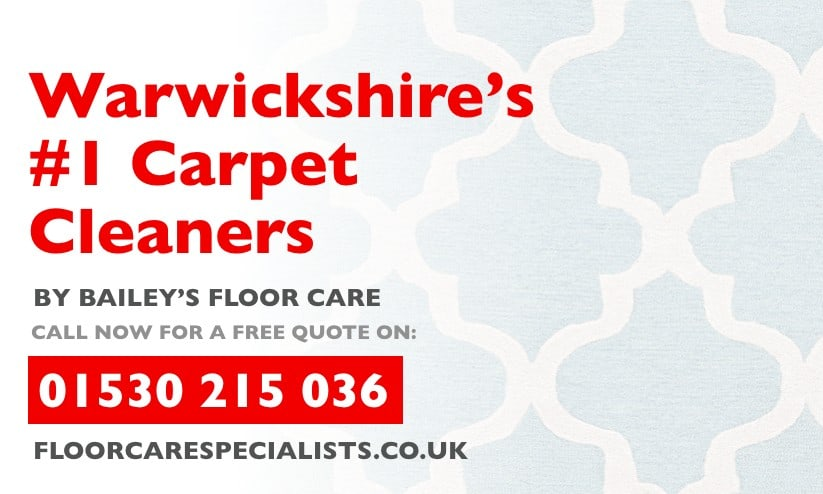 carpet cleaning in warwickshire