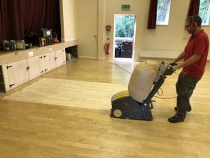 Beech Floor - www.BaileysFloorCare.co.uk