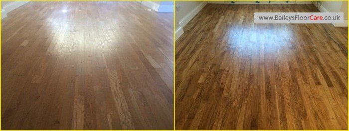 Wood Floor Sanding and Restoration in Derby - www.BaileysFloorCare.co.uk
